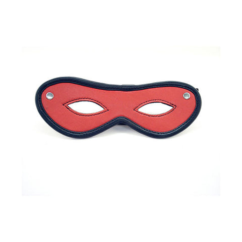 Leather Mask (Red with Black Trim)