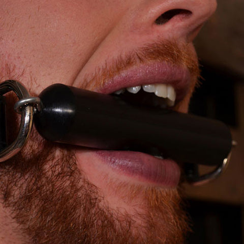 Thick Bit Gag with Leather Strap