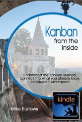 Kanban from the Inside - Mike Burrows - KINDLE/MOBI EBOOK edition