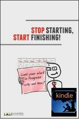 Stop Starting, Start Finishing - Arne Roock - English - KINDLE/MOBI EBOOK digital edition