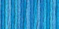 DMC Color Variations 6-Strand Embroidery Floss 8.7yd-Mediterranean Sea - Pens N More