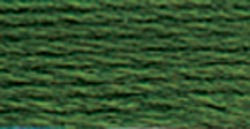 DMC Pearl Cotton Skein Size 3 16.4yd-Dark Hunter Green