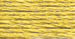 DMC Pearl Cotton Skein Size 5 27.3yd-Very Light Golden Olive