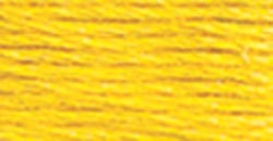 DMC Pearl Cotton Skein Size 5 27.3yd-Bright Canary