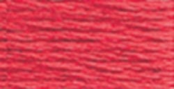 DMC 6-Strand Embroidery Cotton 8.7yd-Light Christmas Red
