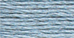 DMC Satin Floss 8.7yd-Light Antique Blue