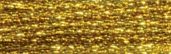 DMC Light Effects Embroidery Floss 8.7yd-Dark Gold - Pens N More