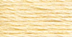 DMC Pearl Cotton Skein Size 5 27.3yd-Ultra Pale Yellow - Pens N More