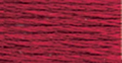 DMC 6-Strand Embroidery Cotton 100g Cone-Garnet