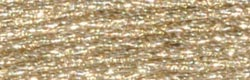 DMC Light Effects Embroidery Floss 8.7yd-White Gold