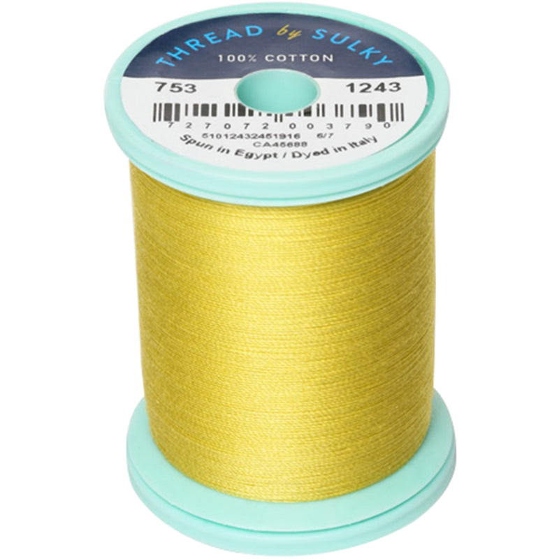 Sulky Cotton & Steel Thread 50wt 660yd-Spring Moss - Pens N More