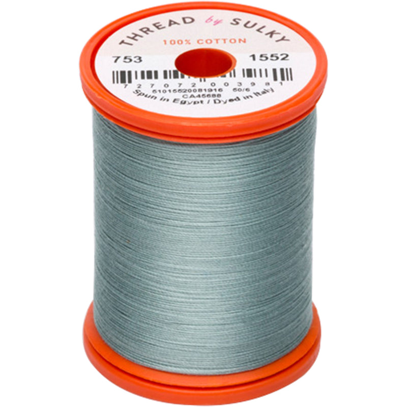 Sulky Cotton & Steel Thread 50wt 660yd-Dark Desert Cactus