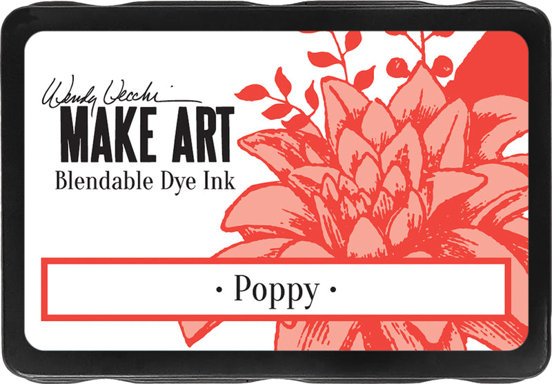 Wendy Vecchi Make Art Dye Ink Pads-Poppy - Pens N More