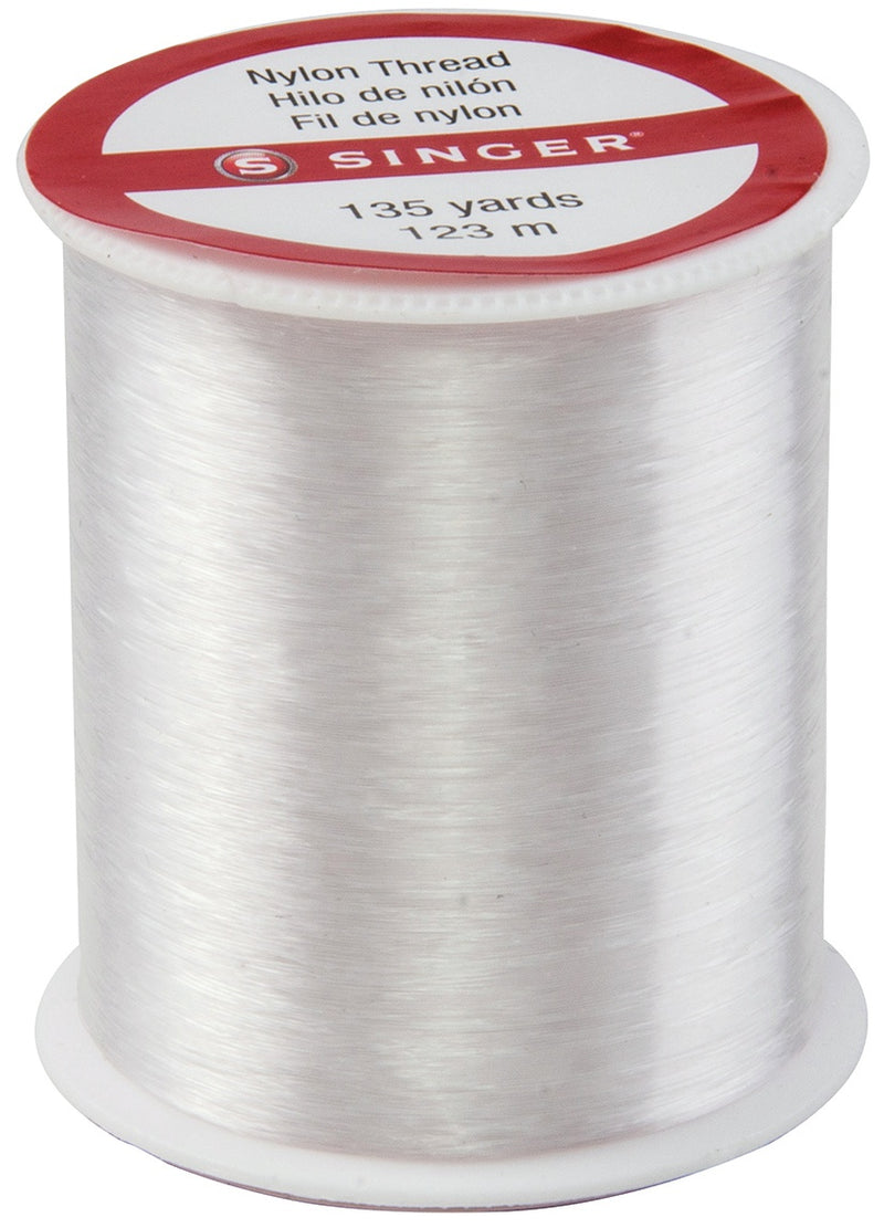 Singer Nylon Thread 135yd-Clear - Pens N More