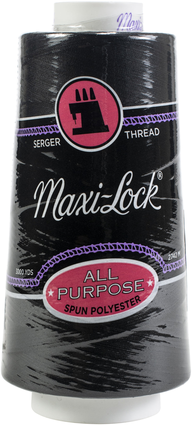 Maxi-Lock Cone Thread 3,000yd-Black