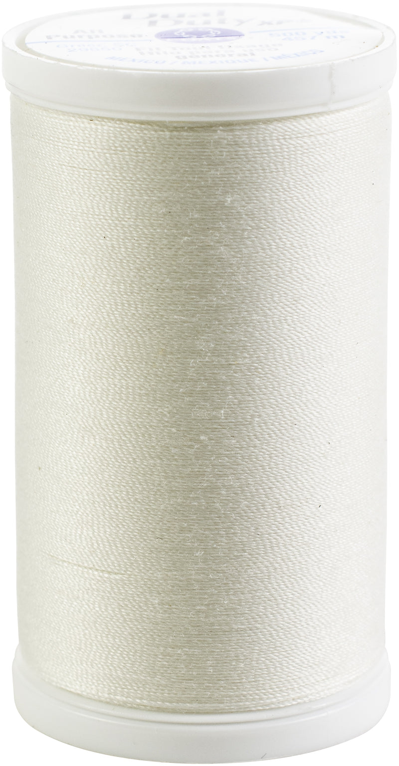 Coats Dual Duty XP General Purpose Thread 500yd-Winter White - Pens N More