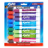 Expo Low Odor Dry Erase Markers, Chisel Tip, Assorted Colors, 17-Count