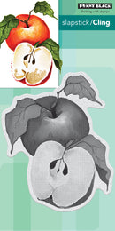 Penny Black Cling Stamps-Apples - Pens N More