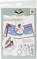 Karen Burniston Dies-Snowman Twist Circle Pop-Up