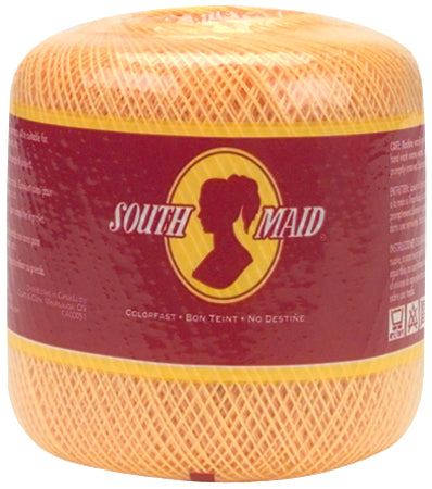 South Maid Crochet Cotton Thread Size 10-White - Pens N More