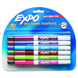 Expo Low Odor Dry Erase Markers, Fine Point, Assorted Colors, 12-Count