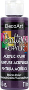 Crafter's Acrylic All-Purpose Paint 4oz-African Violet - Purple