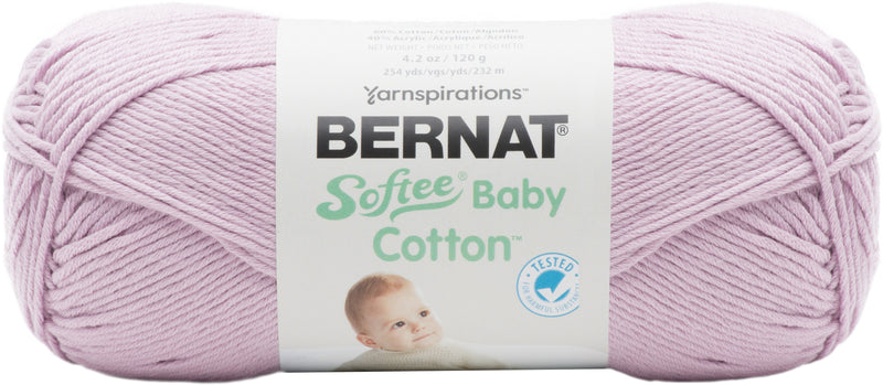 Bernat Softee Baby Cotton Yarn-Soft Plum - Pens N More