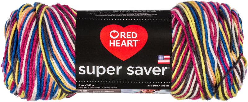 Red Heart Super Saver Pooling Yarn-Carnival - Pens N More