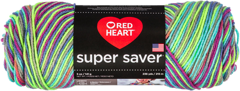 Red Heart Super Saver Pooling Yarn-Party - Pens N More
