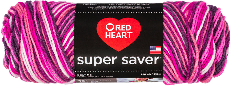 Red Heart Super Saver Pooling Yarn-Berry - Pens N More