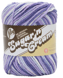 Lily Sugar'n Cream Yarn - Ombres Super Size-Purple Haze - Pens N More