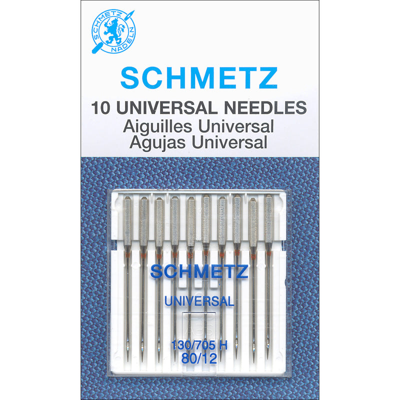 Schmetz Universal Machine Needles -Size 80/12 10/Pkg - Pens N More
