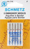 Schmetz Embroidery Machine Needles-Sizes 11/75 (3) & 14/90 (2) - Pens N More