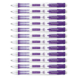 Paper Mate Clear Point Mechanical Pencil, 0.5mm, Purple Barrel, 12-Count