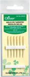 Clover Gold Eye Tapestry Needles-Size 24 6/Pkg - Pens N More
