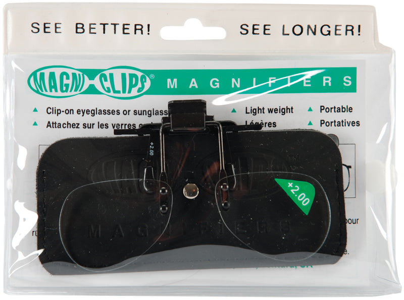 K1C2 Magni-Clips Magnifiers-+2.00 Magnification - Pens N More