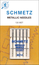 Schmetz Metallic Machine Needle-Size 14/90 5/Pkg - Pens N More
