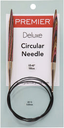 "Premier Fixed Circular Knitting Needles 40""-Size 13/9mm - Pens N More"