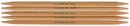 "Takumi Bamboo Double Point Knitting Needles 7"" 5/Pkg-Size 4/3.5mm - Pens N More"