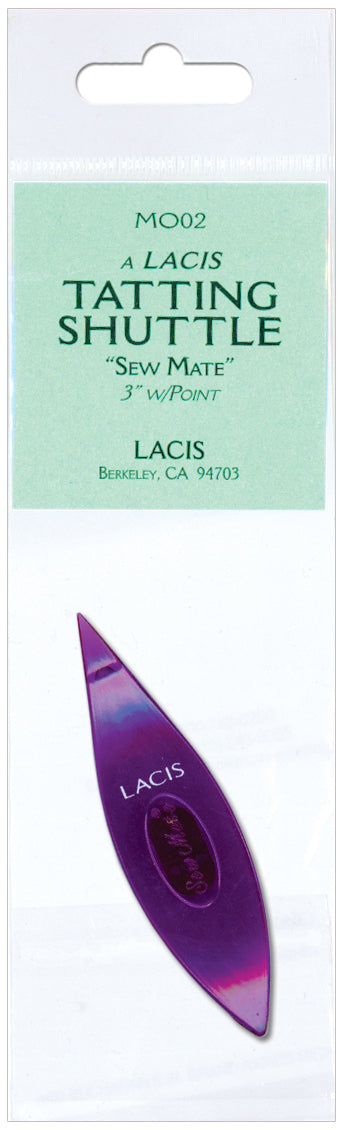 Lacis Sew Mate Tatting Shuttle Pointed Tip-Purple - Pens N More