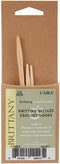 "Brittany Cable Knitting Needles 3.75"" 3/Pkg-Sizes 2.5/3mm, 4/3.5mm & 7/4.5mm - Pens N More"