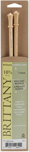"Brittany Single Point Knitting Needles 10""-Size 10.75/7mm - Pens N More"