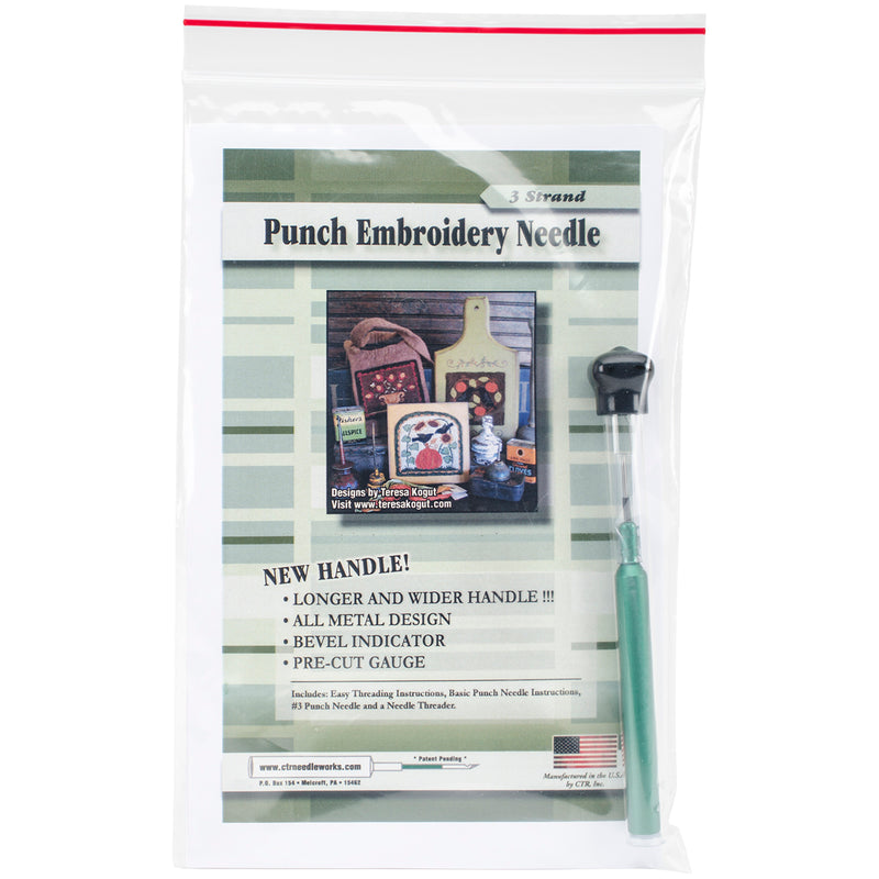 Punch Embroidery Needle - - Pens N More