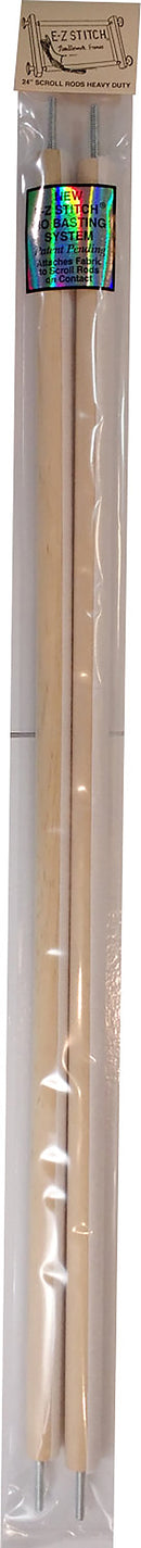"E-Z Stitch Scroll Rods 24""-Heavy-Duty .625"" - Pens N More"