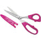 Havel's Sew Creative Serrated Quilting/Sewing Scissors-8""