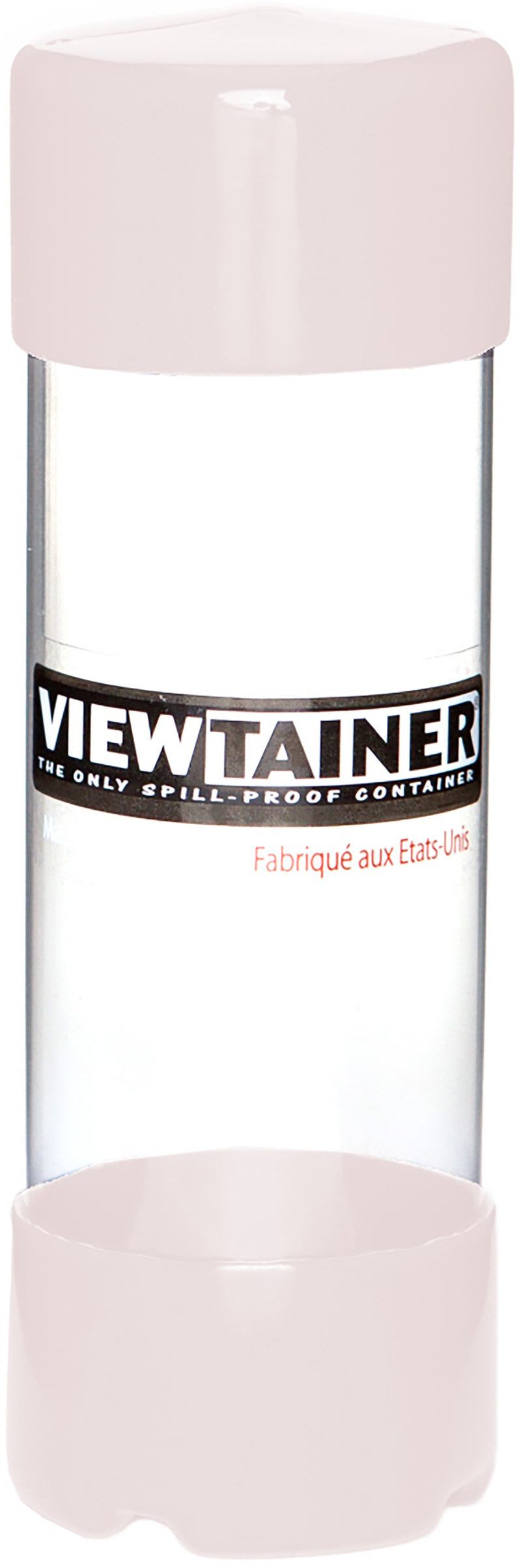 "Viewtainer Slit Top Storage Container 2""X6""-White"