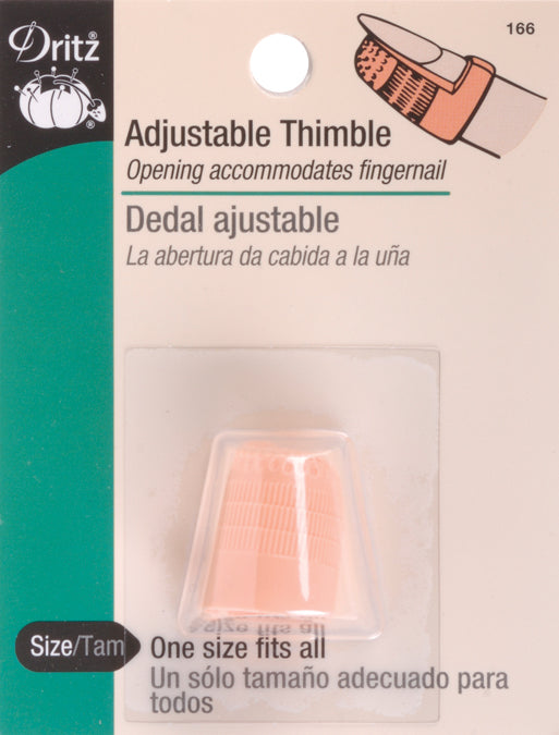 Dritz Adjustable Thimble-One Size Fits All - Pens N More