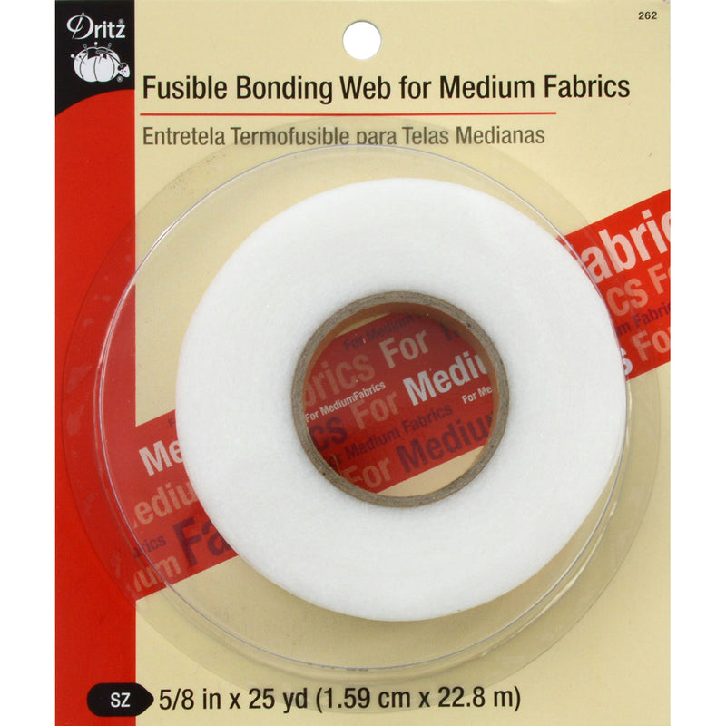 "Dritz Fusible Bonding Web For Medium Fabrics .625""X25yd- - Pens N More"