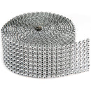 "Darice Bling On A Roll 1.37""X2yd-8 Rows, Silver - Pens N More"