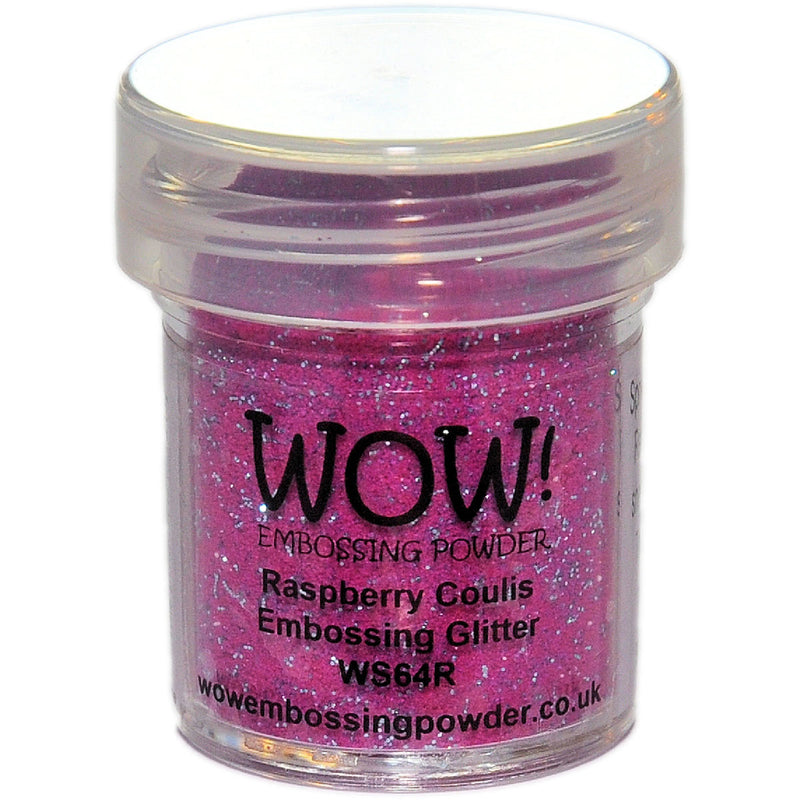 WOW! Embossing Powder 15ml-Raspberry Coulis - Pens N More